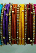 Gorgeous Colourful Bangles Set